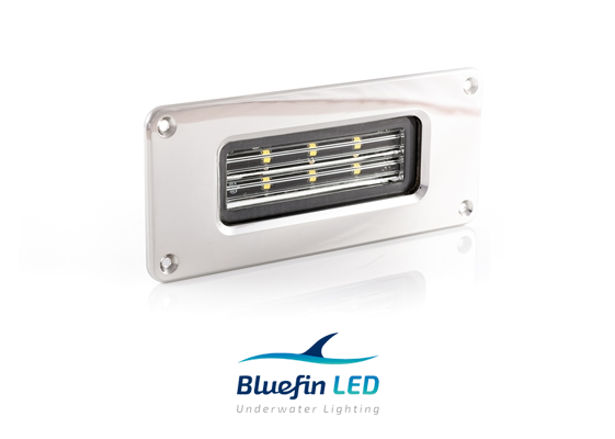 bluefinled marine led floodlights inox