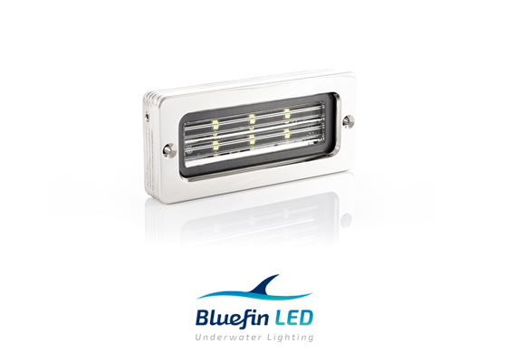 marine led floodlights inox