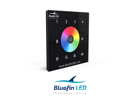 bluefinled wifi dmx controller for underwater lights