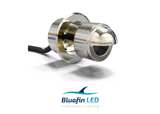 marine led steplights inox
