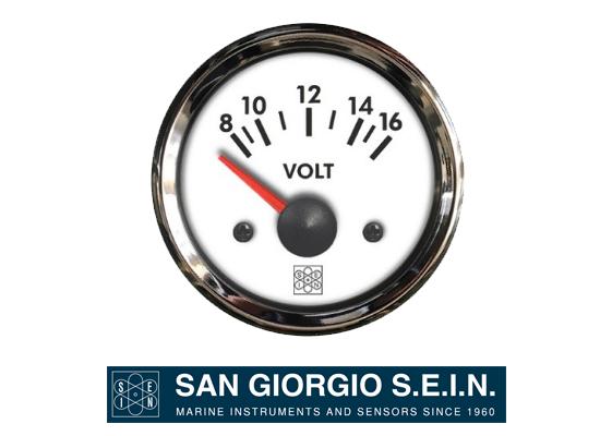 marine voltmeters