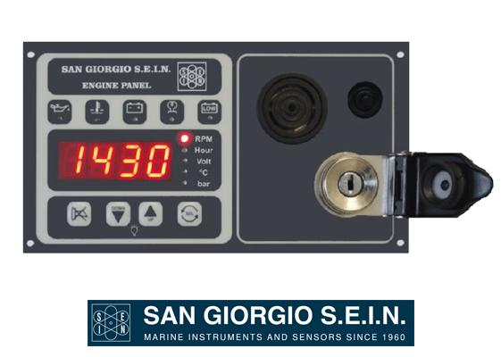 san giorgio QCS23409 engine panel san giorgio