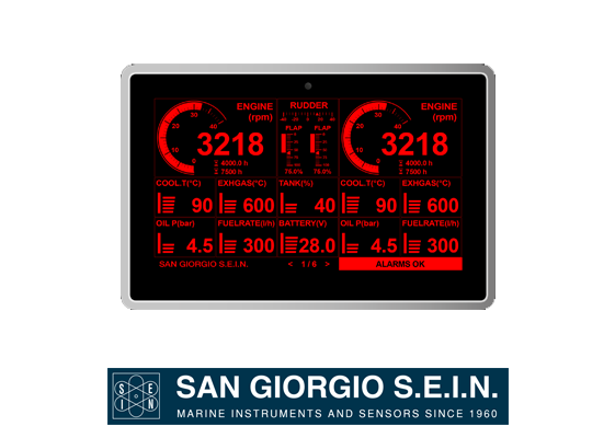 san giorgio UNS10193 engine panel