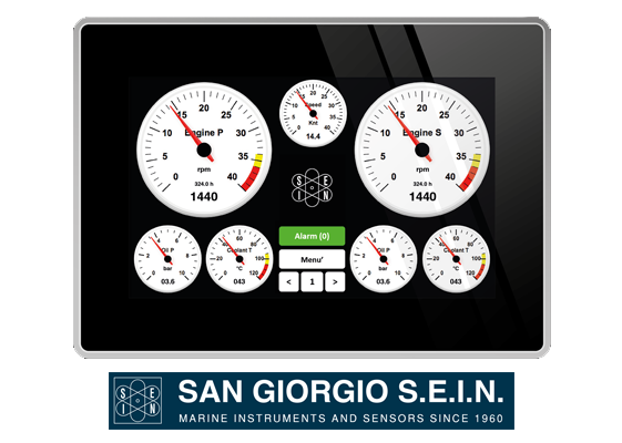san giorgio UNS10195 engine panel