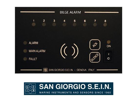 san giorgio alarm panel