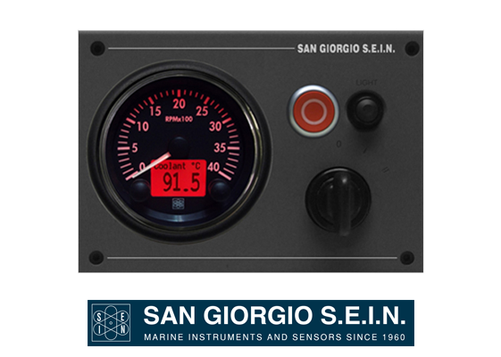 san giorgio engine panel
