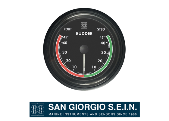 san giorgio marine rudder indicator