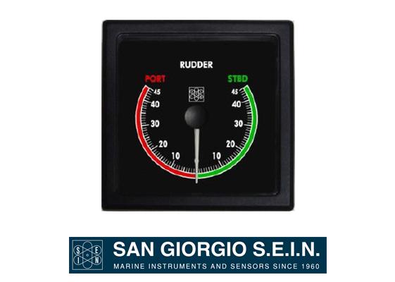 marine rudder indicator