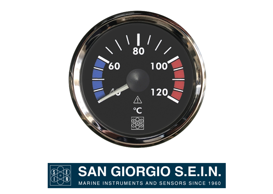 san giorgio water temperature indicators